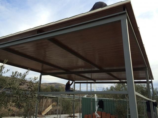 Venta panel sandwich construccion share the knownledge for Porches de ocasion